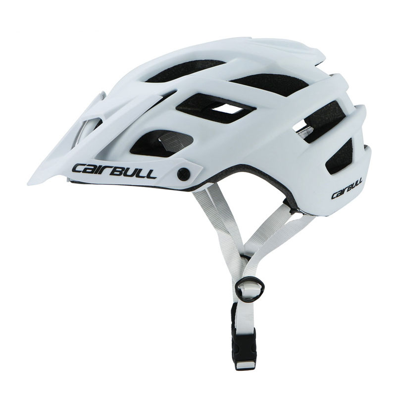 2020 Cairbull Road MTB Mountain Bike Racing Helmet With Lens And Brim Taillight