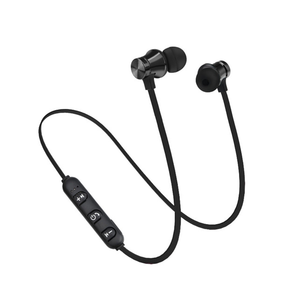 W12 Xt 11 Magnetic Bluetooth Headphone Stereo Sports Waterproof Earbuds With Microphone Sale Price Reviews Gearbest