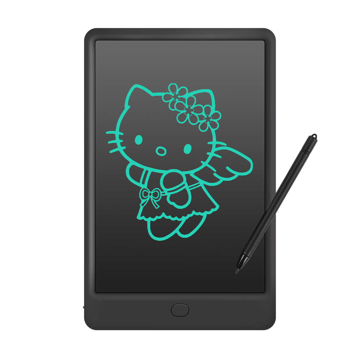 Finger Writing 10 Inch LCD Board//Electronic Small Blackboard One Button Erase Blue // Suitable for Childrens Drawing Graffiti Memo Gift