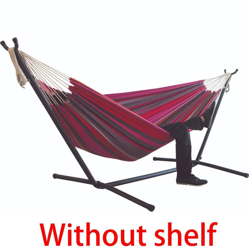 Striped Rainbow Hanging Chair Large Hammock Chair Double Hammock Bed Patio Lawn Garden Patio Furniture Accessories
