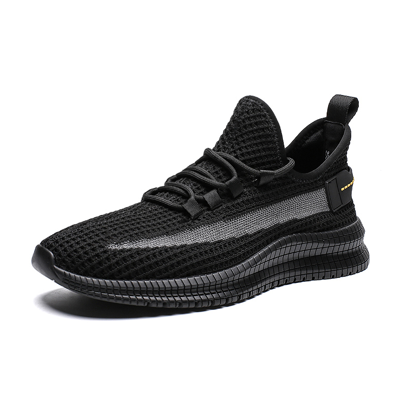 Mens Casual Breathable Walking Sneaker Slip On Outdoor Sport Mesh Shoes Running Shoes