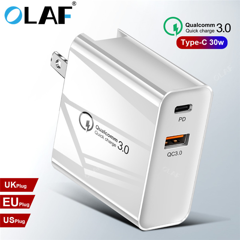 OLAF 3USB PD Fast Charging Type C
