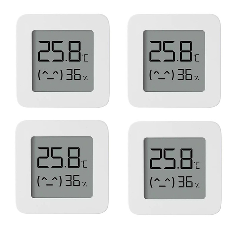 XIAOMI Mijia Bluetooth Thermometer ー4pcs