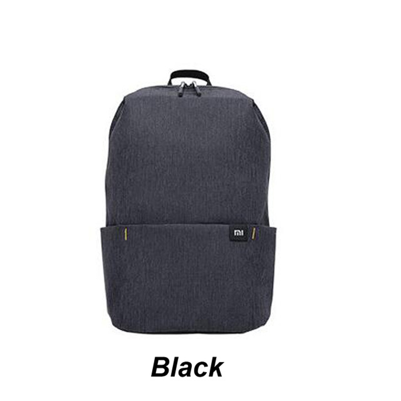 Original Xiaomi Mi Backpack 10L Bag 10 Colors 165g Urban Leisure Sports Chest Pack Bags Men Women Small Size Shoulder Unise  Black China Coupon Code and price! - $6