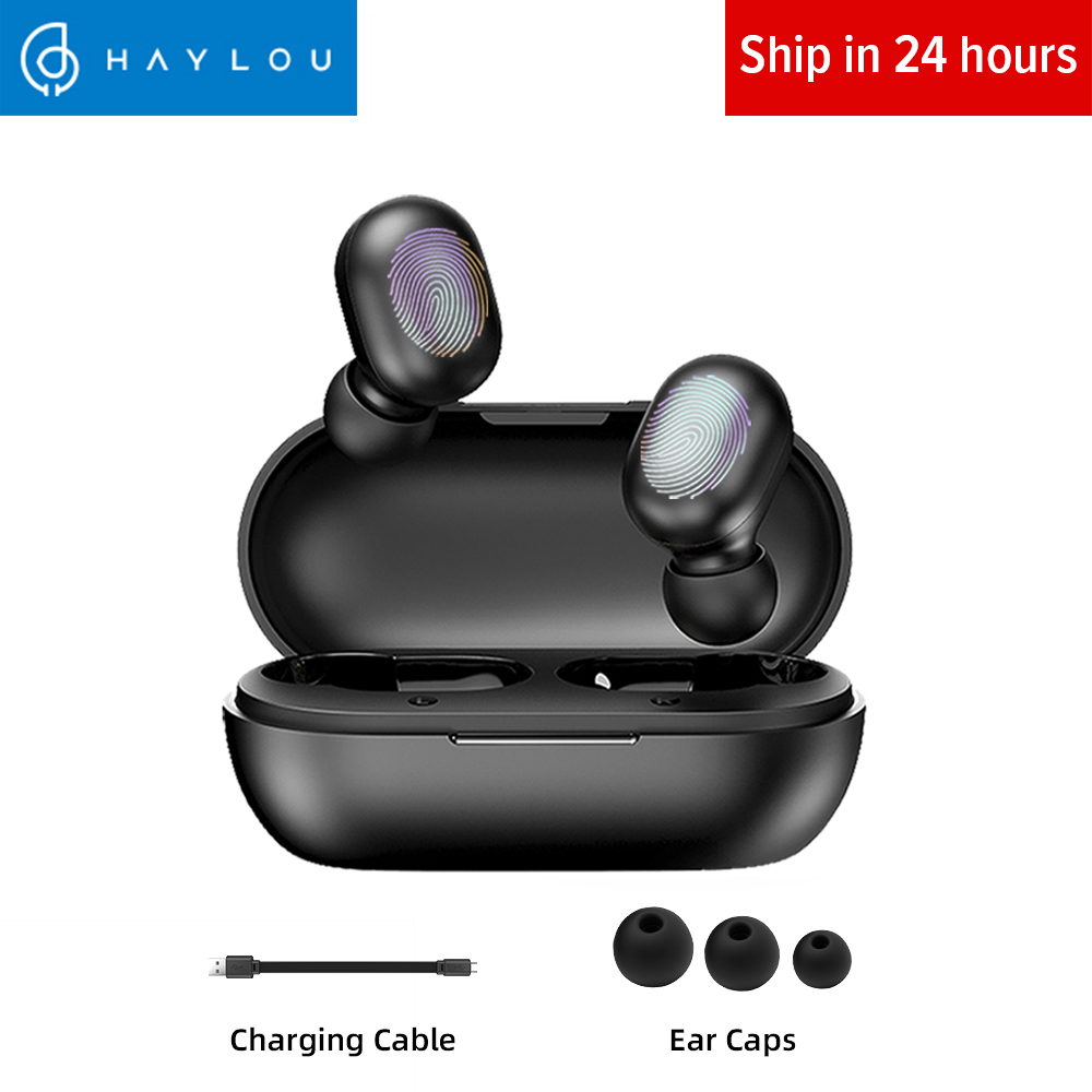 Haylou GT1 TWS Fingerprint Touch Bluetooth Earphones HD Stereo Wireless Headphones Noise Cancelling Gaming Headset