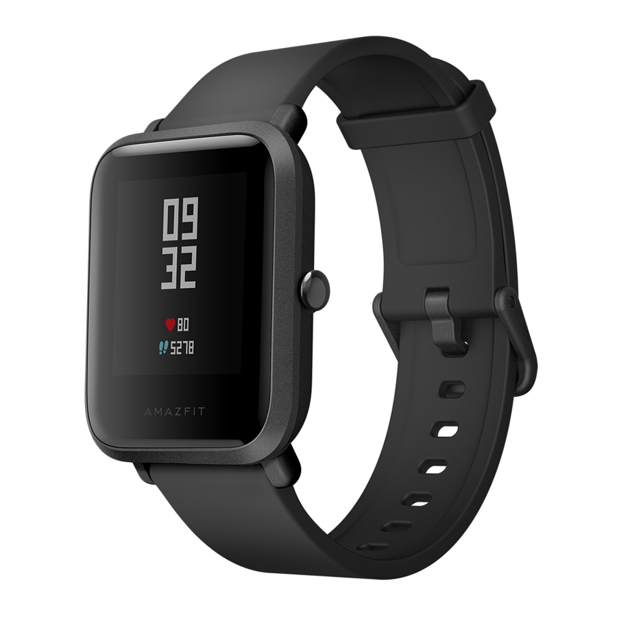Global Amazfit Bip BIT IP68 Waterproof PACE Mi Fit Glonass Smart Watch+GPS For Android iOS Phone English Version