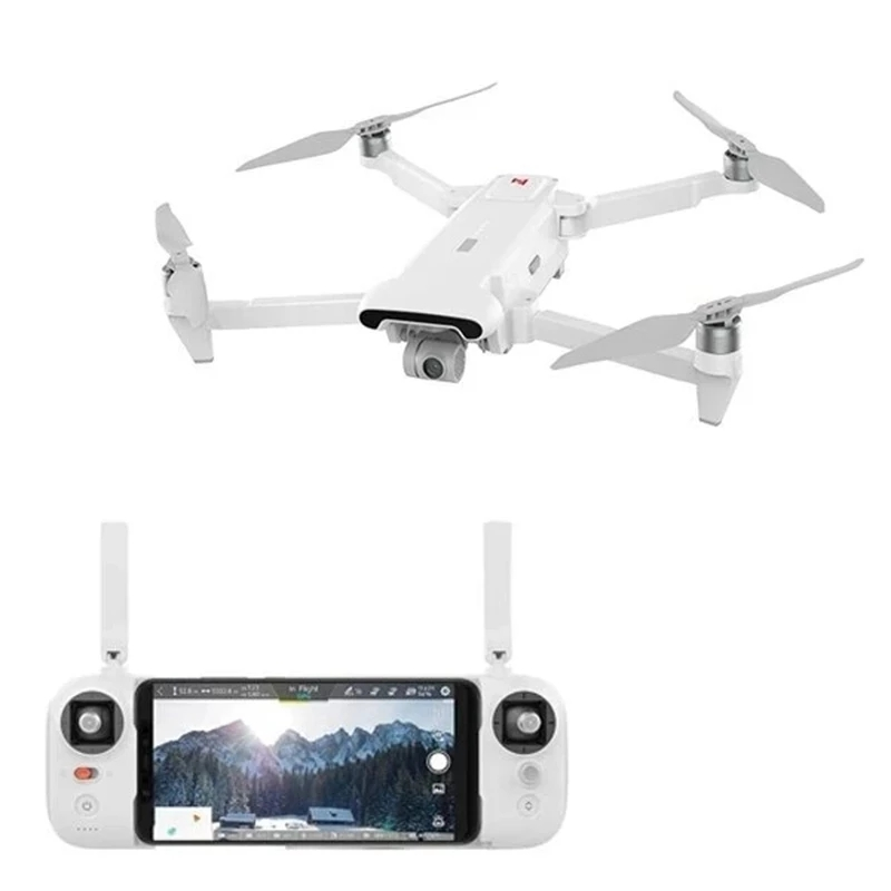 FIMI X8 SE 2020 Foldable GPS Wifi FPV RC Drone Quadcopter with 3-axis Gimbal 4K HD Camera Optical Flow Positioning RC Helicopters Toys