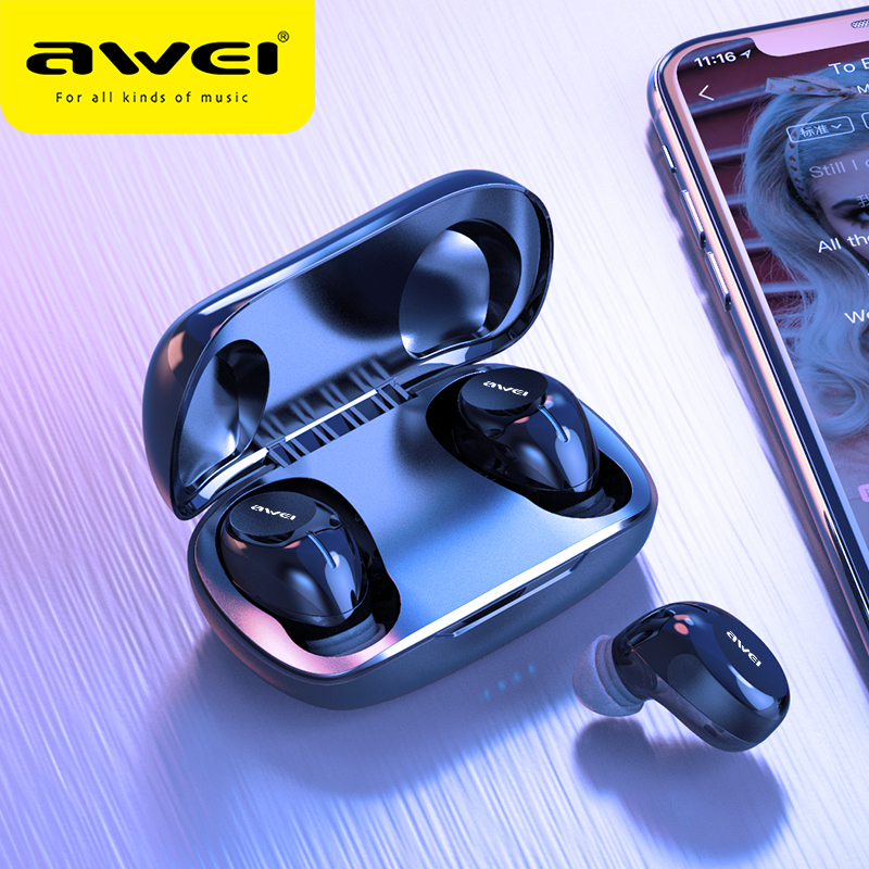 Awei T20 Budget Tws In Ear Mini Earbuds Gaming Bluetooth Quality Sound Hifi Earphones Sale Price Reviews Gearbest
