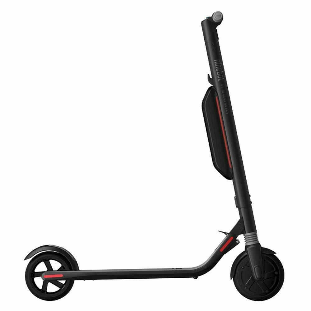 Ninebot ES4 Portable Quick Folding Electric Scooter with 5200mAh Expandable Li ion Battery  Black Poland