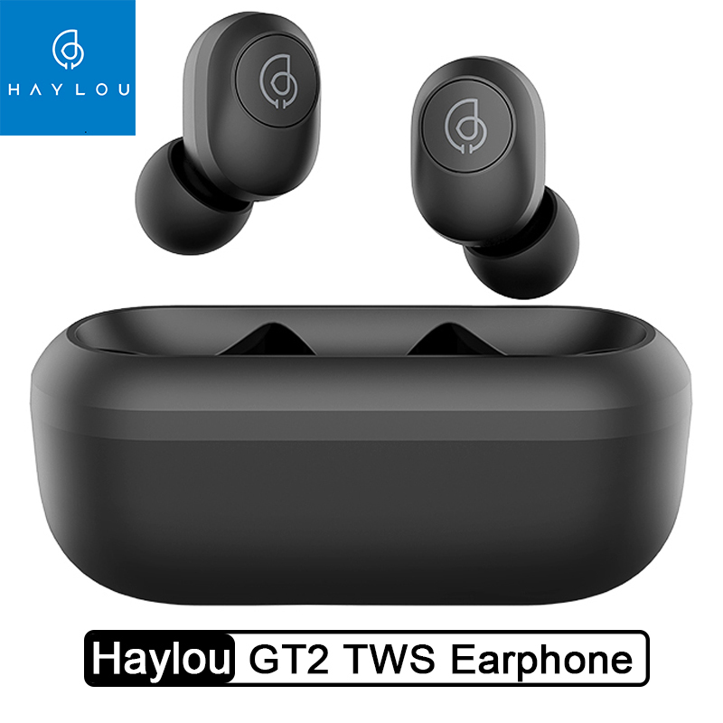 Haylou Gt2 Tws Wireless Earphones Hd Stereo Bluetooth 5 0 Headphones Automatic Pairing Earbuds Sale Price Reviews Gearbest