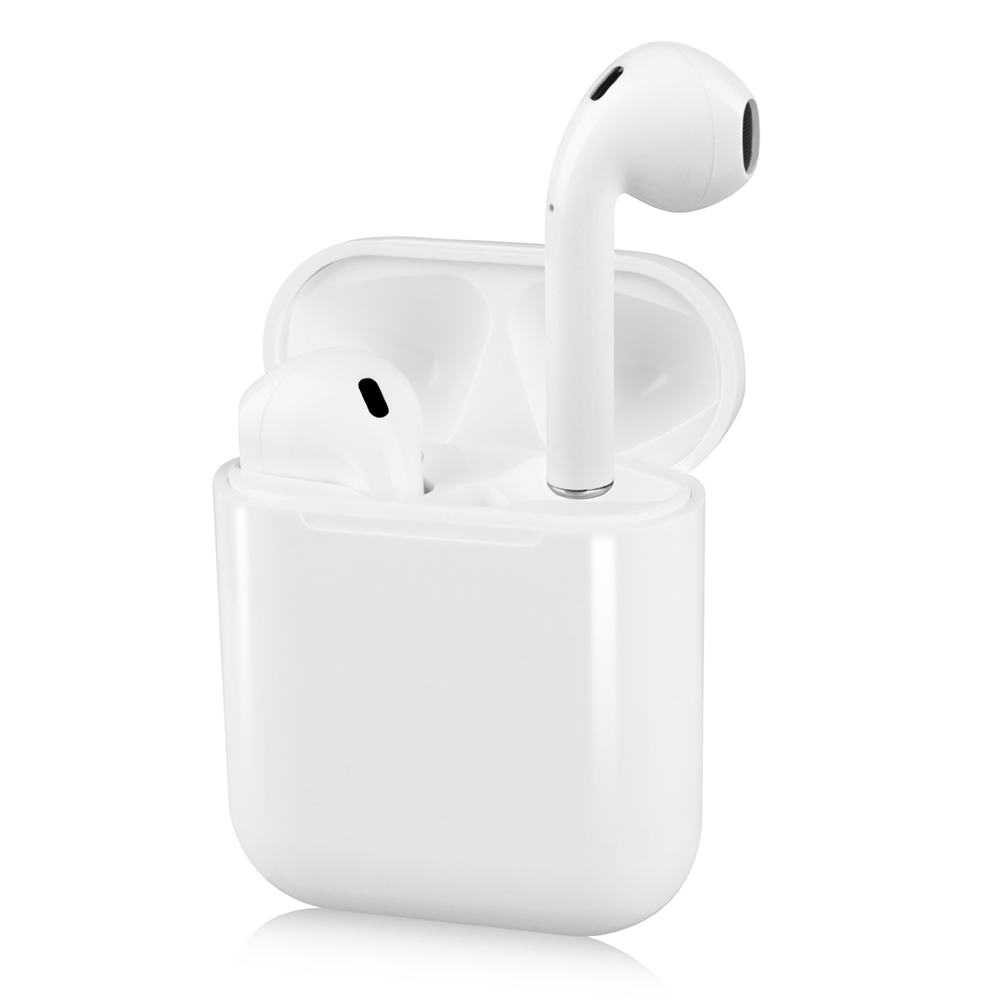 I12 Tws Bluetooth Headphones True Wireless Earphone With Mic In Ear Earbuds Touch Control Charging Case Compatible With Iphone Android Sale Price Reviews Gearbest