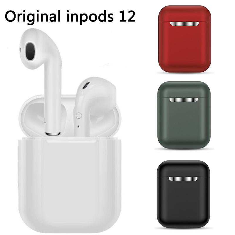 Wireless Headset Inpods 12 Tws Touch Key Bluetooth 5 0 Sport Earphone Stereo For Iphone Xiaomi Huawei Samsung Smart Phone Sale Price Reviews Gearbest
