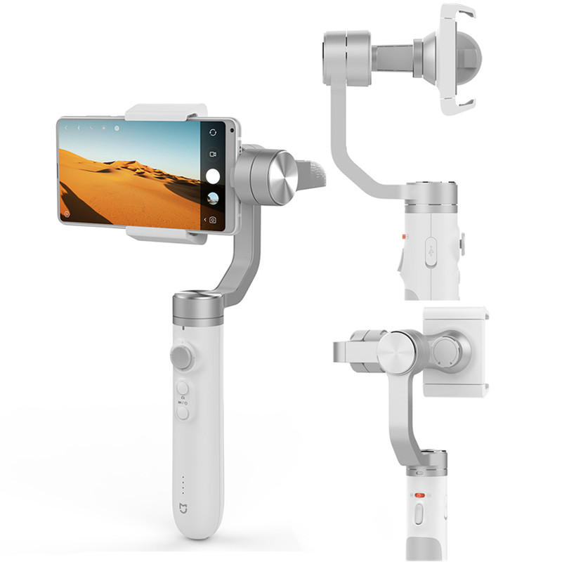 Mijia 3axis Handheld Gimbal Stabilizer Mi Smartphone GH2 Gimbals AI Smart Track 5000mAh Battery for Smartphone Action Camera  China