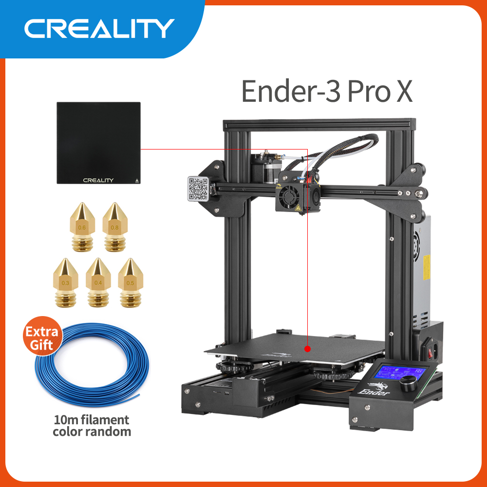 Creality 3d Ender 3 Pro Printer Printing Masks Magnetic Build Plate Resume Power Failure Printing Diy Kit Mean Well Power Supply Sale Price Reviews Gearbest