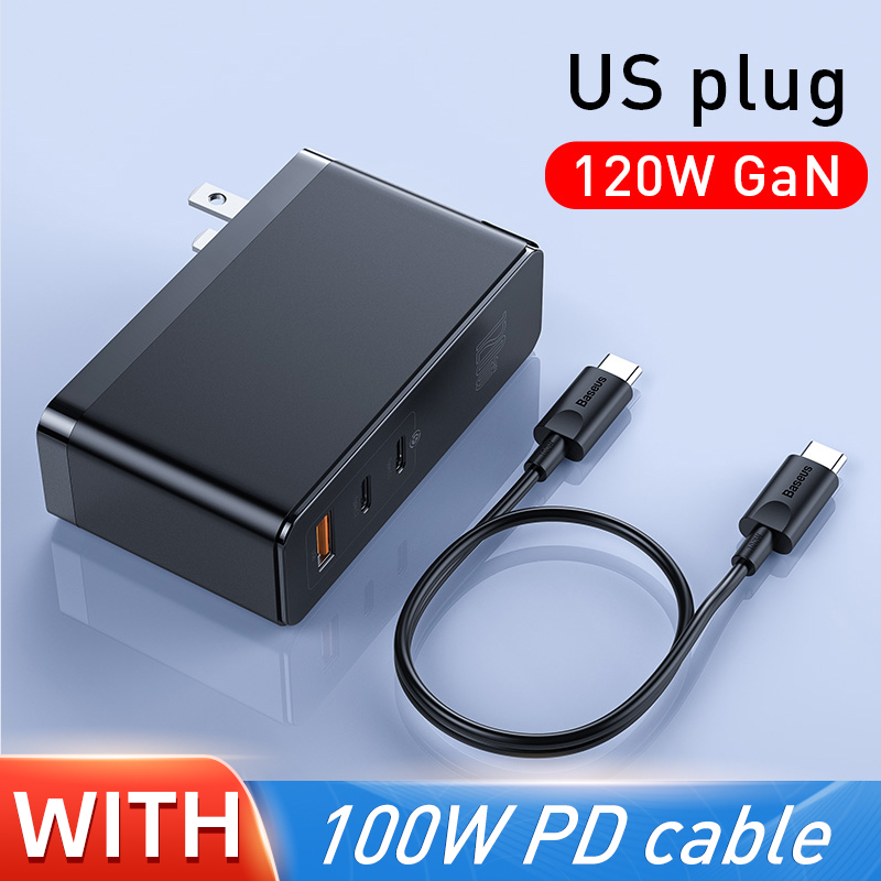 Baseus GaN Charger 120W PD Fast Charging USB C Charger