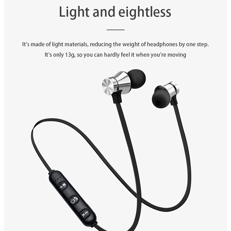 Magnetic Bluetooth Headset Wireless Bluetooth Sports Headset Sale Price Reviews Gearbest