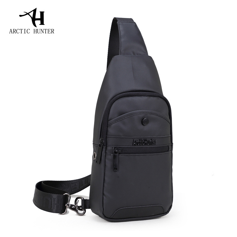 MenS And WomenS Couples Students Messenger Bags Sports And Leisure Multi Type Zipper Chest Bag,A
