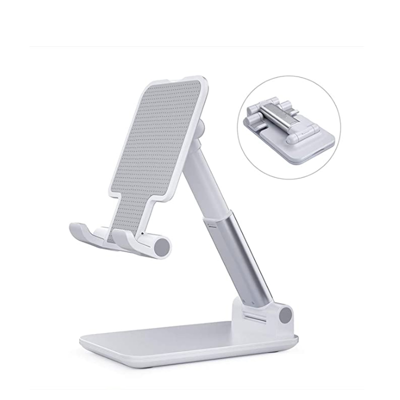 Charging Holder for iPhone iPad Smartphone and Mini Tablet Blue Wall Mount Phone Holder with Adhesive Strips
