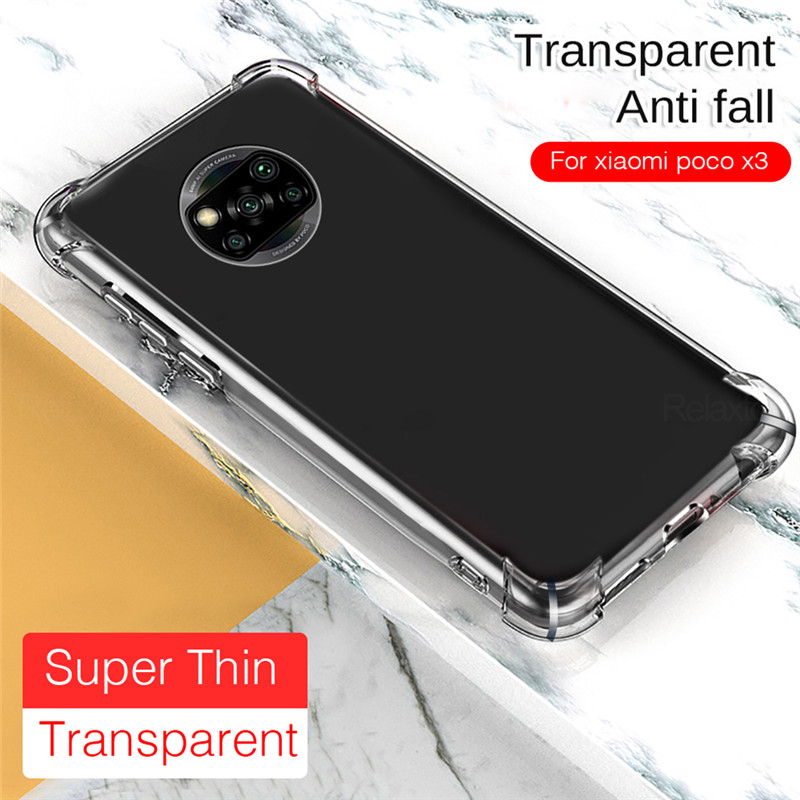 Case For Poco X3 Nfc Phone Case For Poco F2 Pro Shockproof Cover For Xiaomi Pocophone F2 X3 F3 Pro Cases Poco X3 Case Sale Price Reviews Gearbest