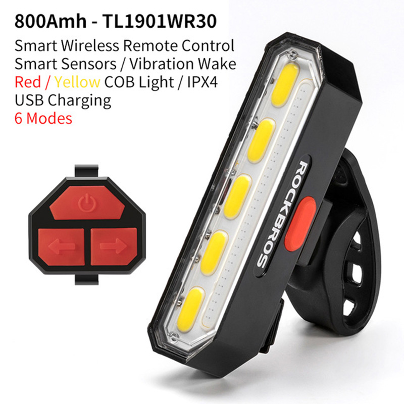 Super Bright USB Led  Rechargeable Rear Light For Mountain Bike
