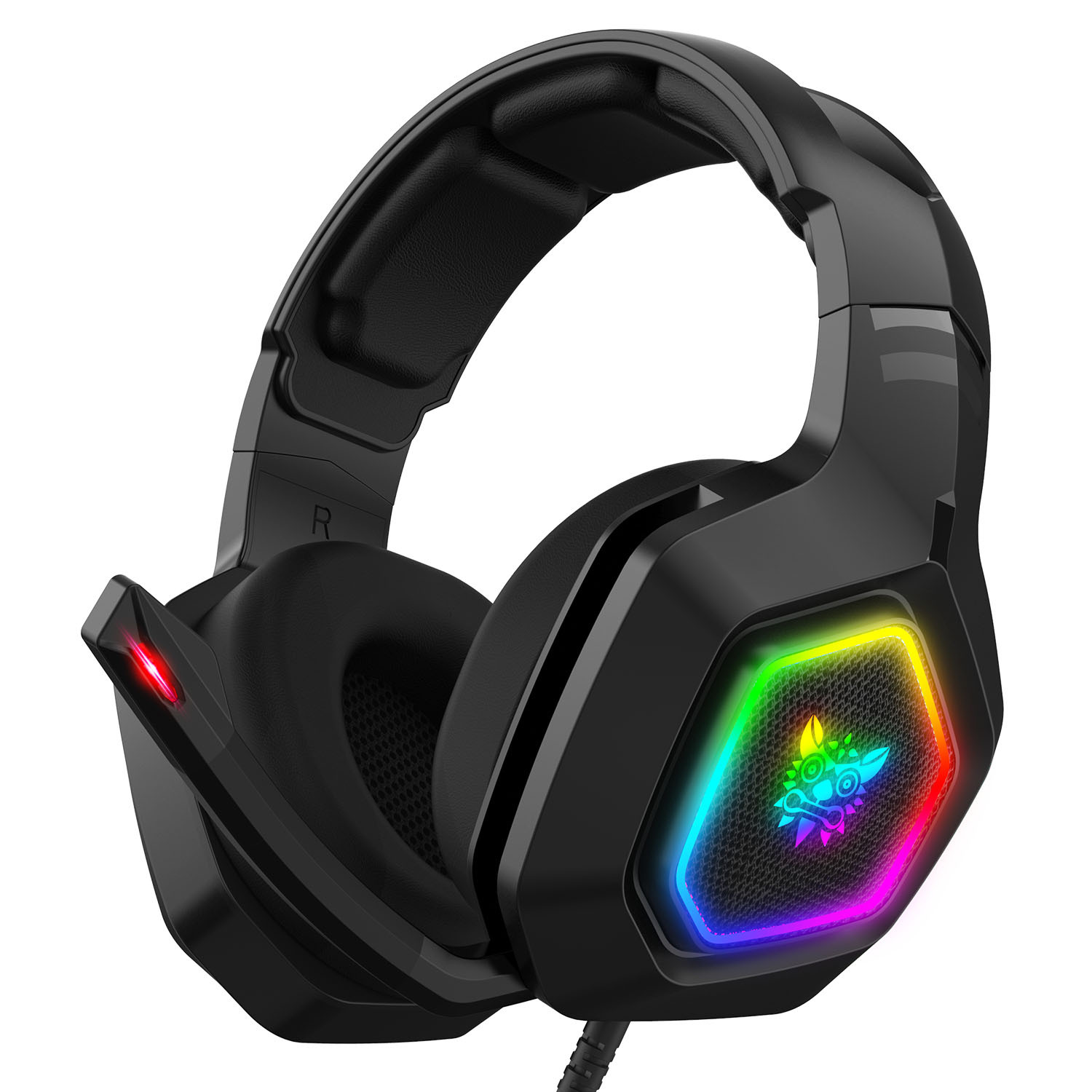 Cross-border Spot 3.5mm with Microphone Best Gaming Headset 2020 Gaming  Gaming Headset Internet Caf PS4 RGB Light Emitting Headset Sale, Price &  Reviews   Gearbest