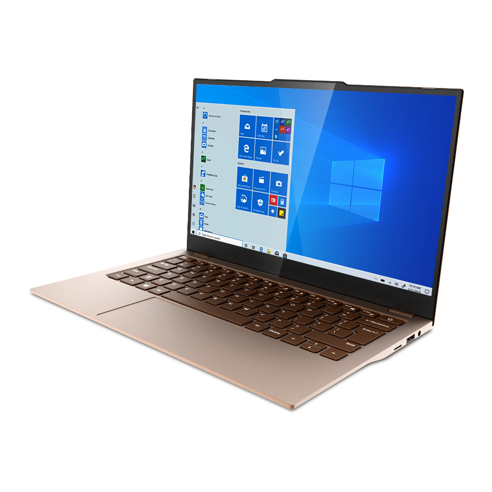 Jumper EZbook X3 Air Notebook 13.3inch IPS Screen Intle Gemini Lake N4100 8GB DDR4 128GB eMMC 1.1cm Ultra thin design Laptop  Mocha brown EU Plug China