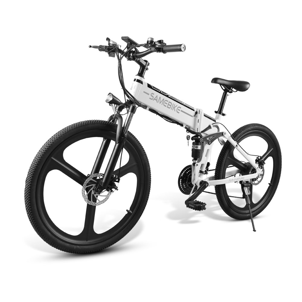 Samebike LO26 Moped Electric Bike Smart Folding Bike E bike EU plug