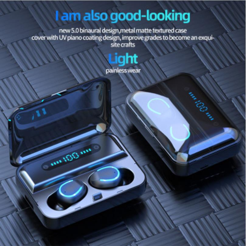 F9 5 Tws Mini Earbuds Bluetooth 5 0 Headset Wireless Stereo Earphone Noise Reduction Sale Price Reviews Gearbest