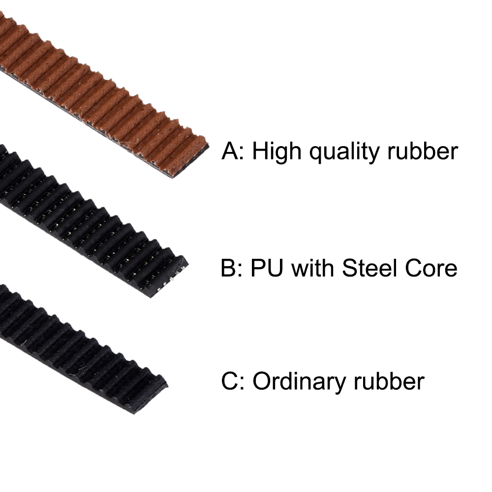 PU timing belt t2 Choice of Lengths 5 Wide 6mm by the metre