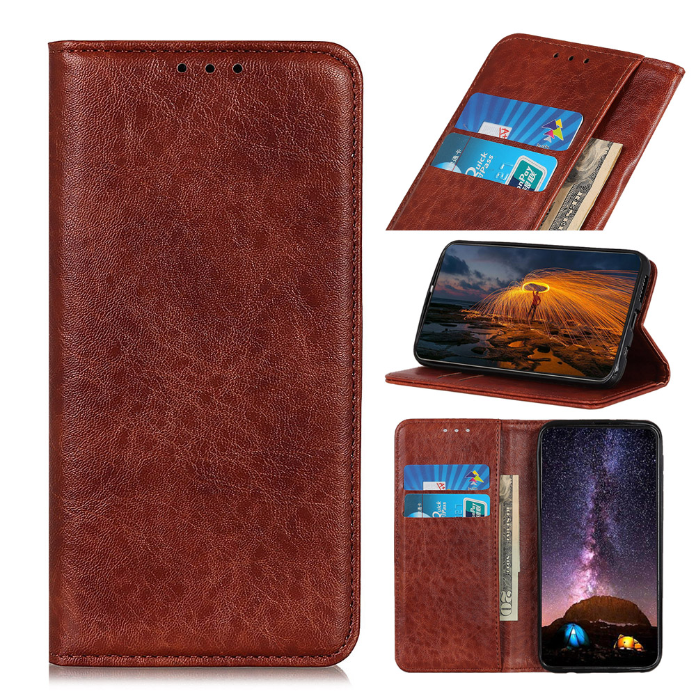 PU Leather Flip Cover Compatible with Samsung Galaxy A70 Blue Wallet Case for Samsung Galaxy A70